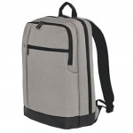 90 GO FUN Classic Business Backpack Light Grey