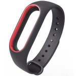 Xiaomi Mi Band 2 Silicone Strap Black/Red