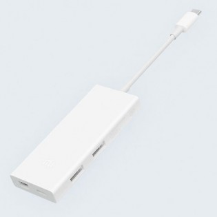 Xiaomi USB-C to Mini DisplayPort Multi-Function Adapter White