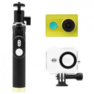 Yi Action Camera Green Travel Kit