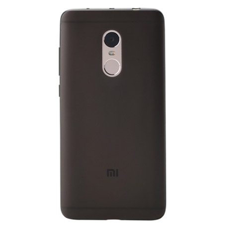 Xiaomi Redmi Note 4 Silicone Protective Case Transparent Black
