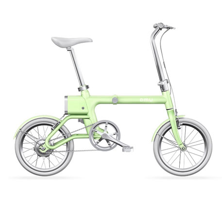 Yunbike UMA Mini Pro Foldable Bicycle Green